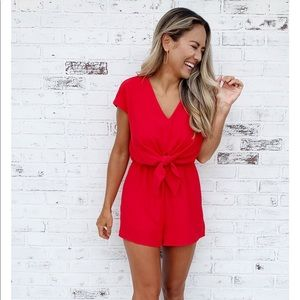 She & Sky Romper. Brand new with tags.
